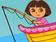 Dora Fishing Icon